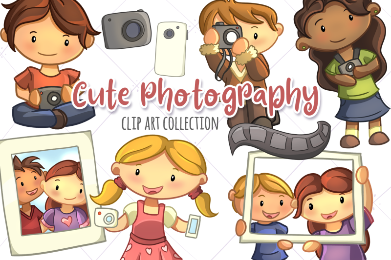 cute-photography-clip-art-collection