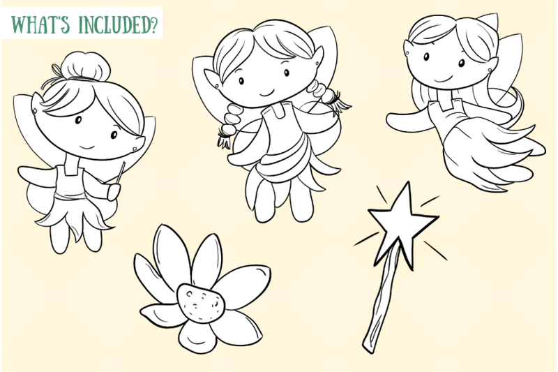 cute-fairies-digital-stamps