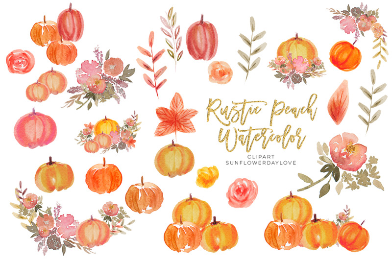 rustic-autumn-pumpkin-clipart-watercolor-pumpkin-clip-art