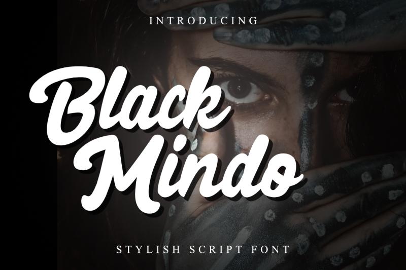 black-mindo-font