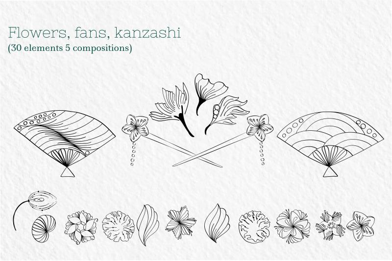 zenart-japanese-kokeshi-vector-set