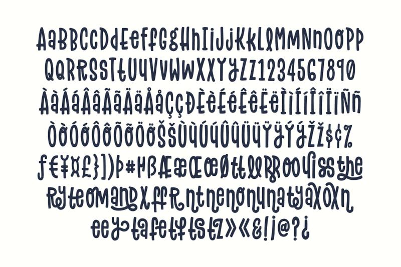 flowery-font