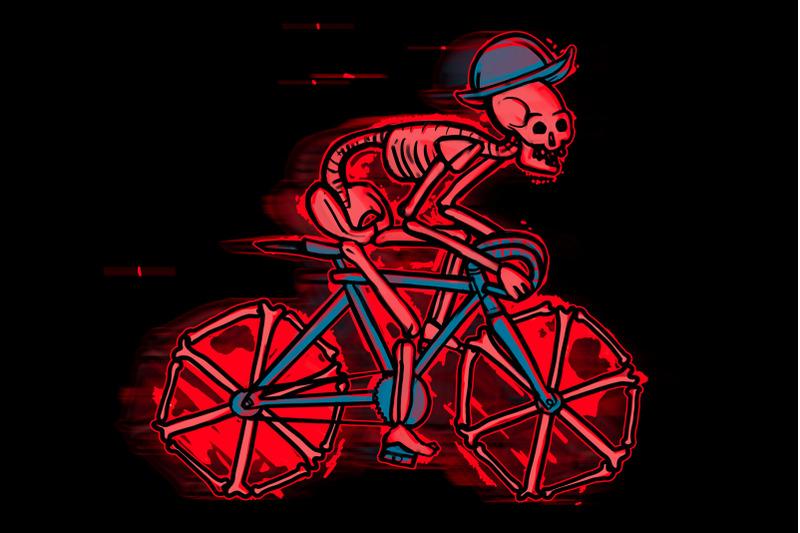 skeleton-bicycles