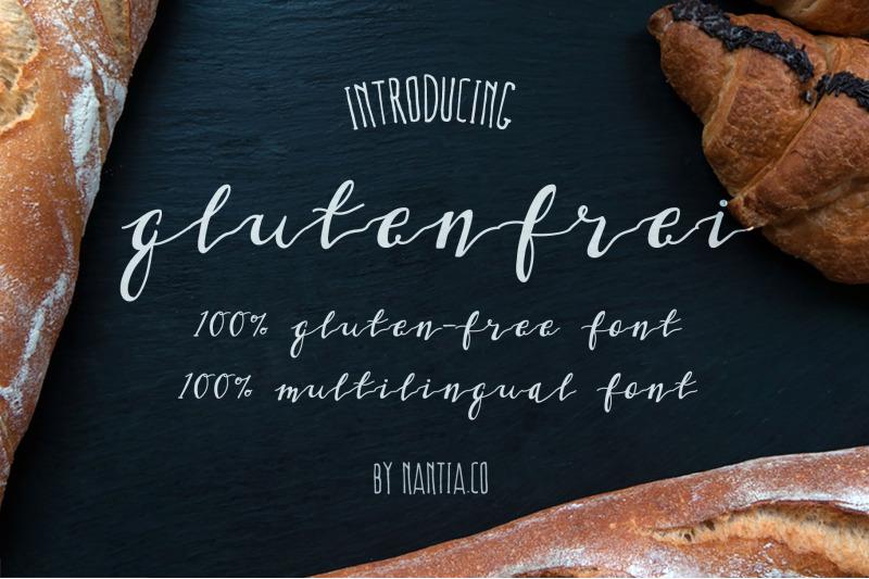 gluten-frei-multilingual-script-font