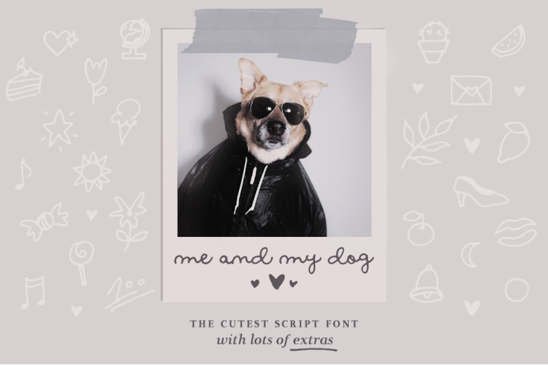intro-sale-me-and-my-dog-script-font-family