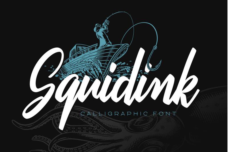 squidink-font-amp-graphics