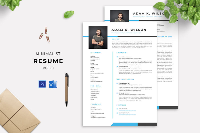 minimalist-resume-vol-01