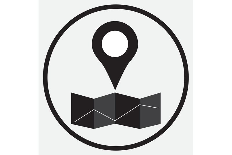 pin-location-map-monochrome
