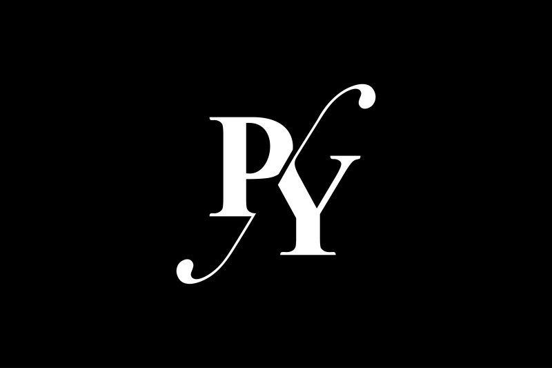 py-monogram-logo-design
