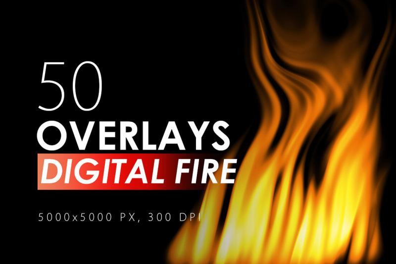 50-digital-fire-overlays