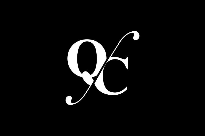 qc-monogram-logo-design