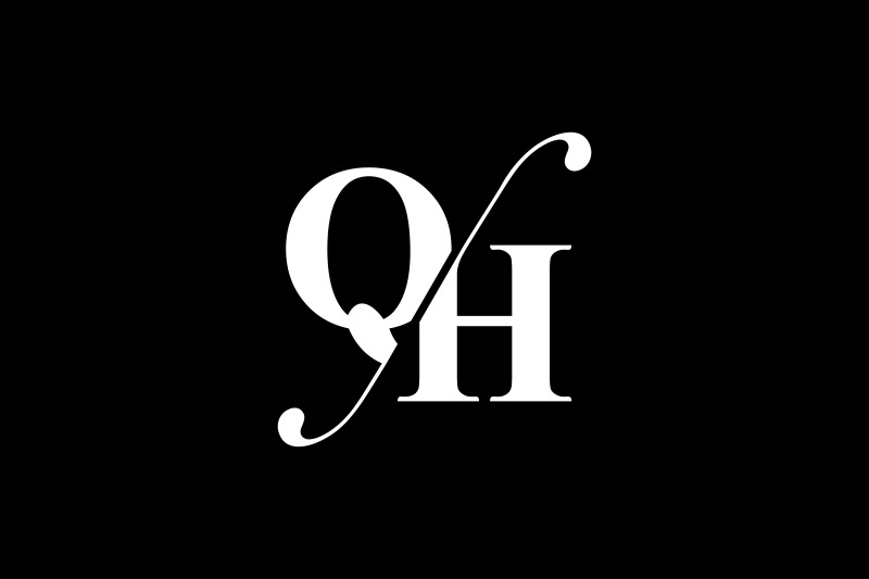 qh-monogram-logo-design