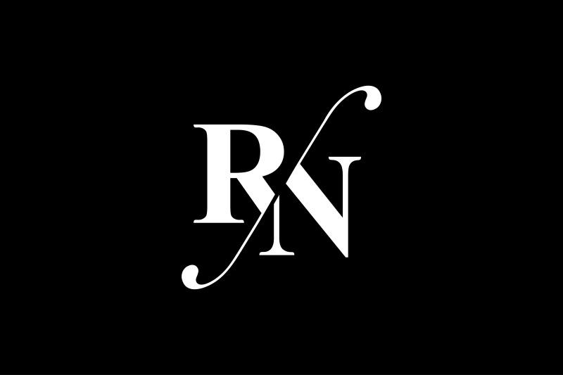 rn-monogram-logo-design