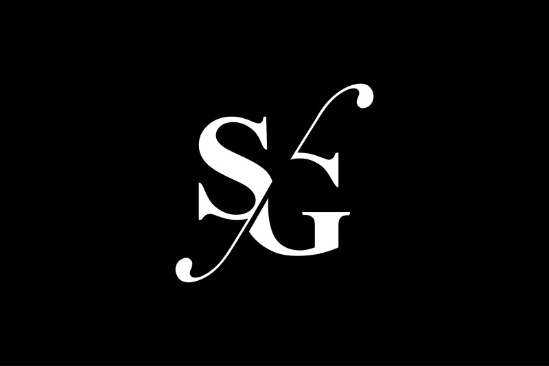 sg-monogram-logo-design