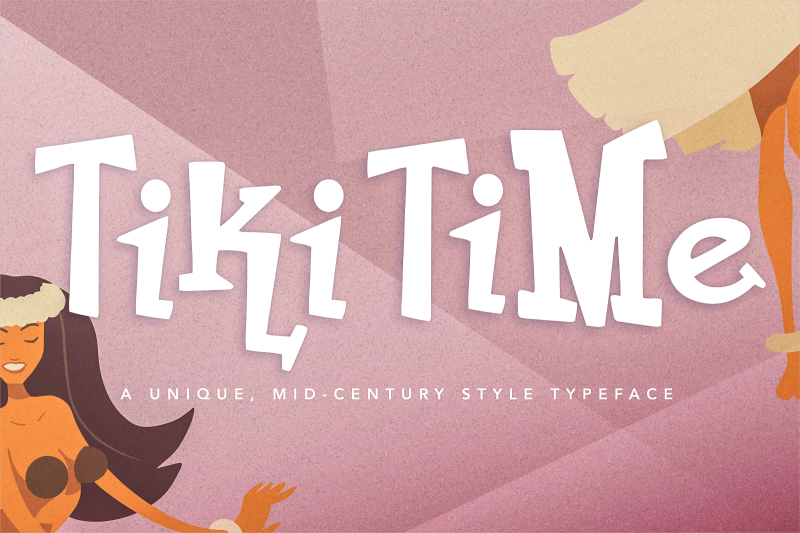tiki-time-font-collection