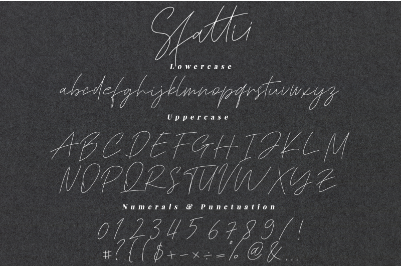 sfattii-script-font