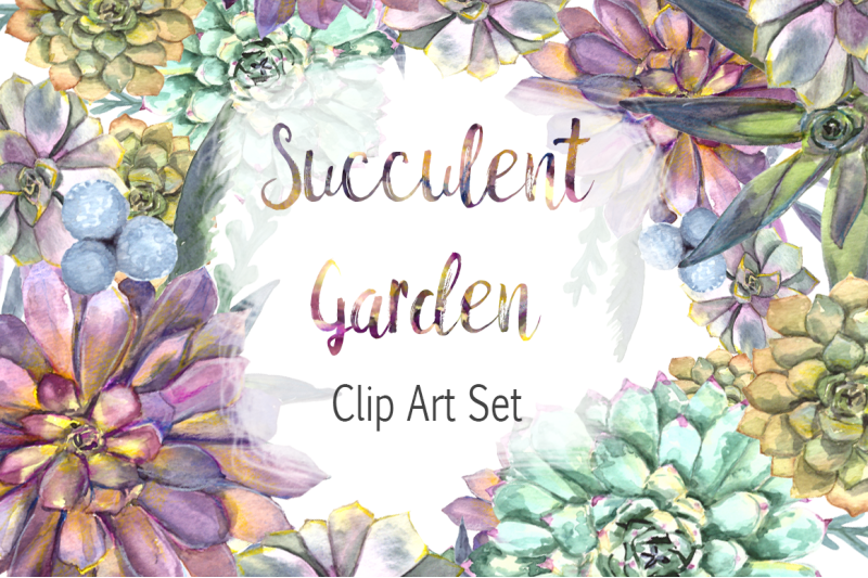 watercolor-succulent-garden-clip-art-set