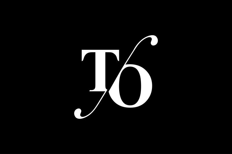 to-monogram-logo-design