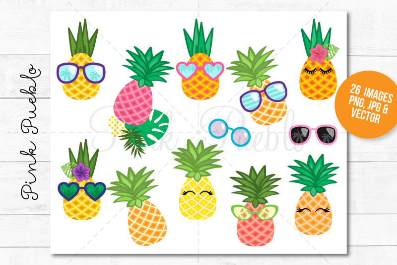 pineapple-clipart-and-vectors