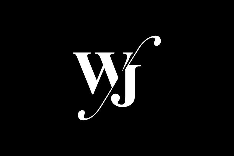 wj-monogram-logo-design