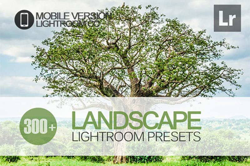 300-landscape-lightroom-mobile-presets