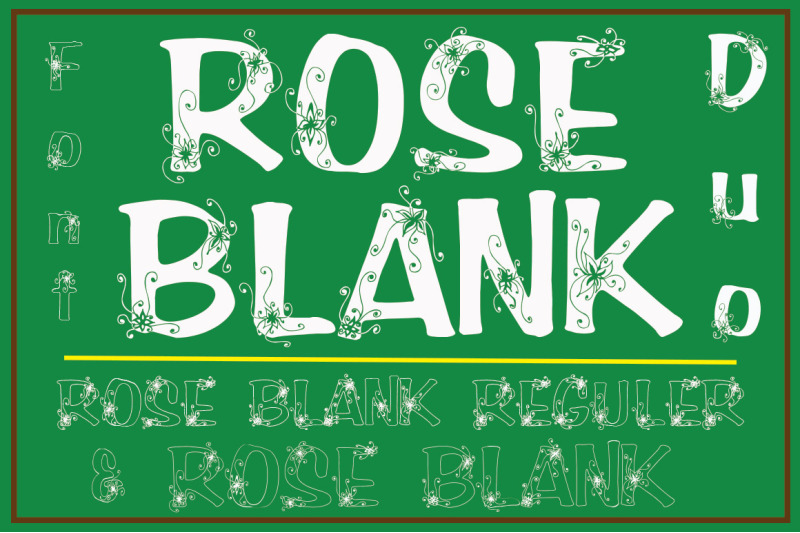 roseblank