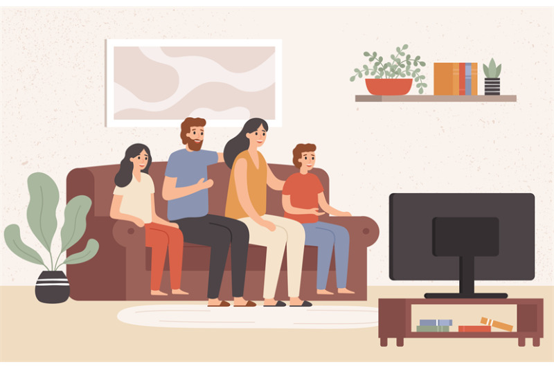 family-watching-television-together-happy-people-watch-tv-in-living-r