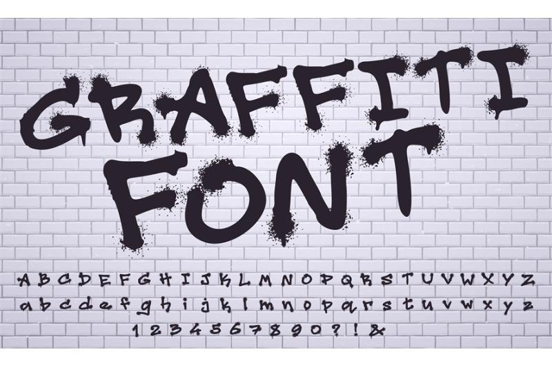 spray-graffiti-font-city-street-art-wall-tagging-lettering-dirty-gra