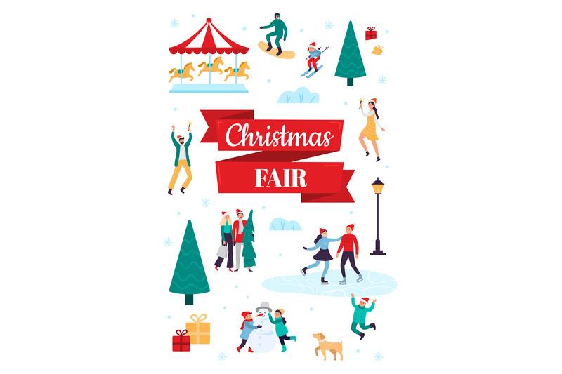 christmas-fair-winter-holiday-poster-snow-festival-and-xmas-celebrat