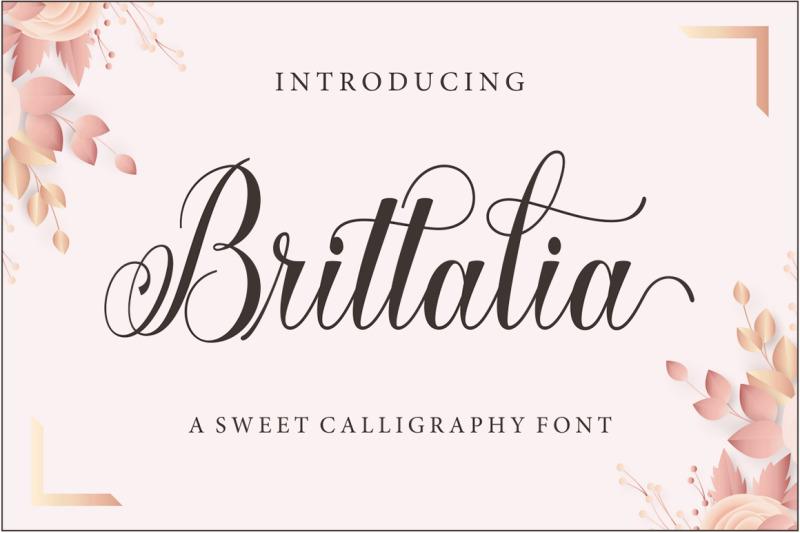 brittalia-script