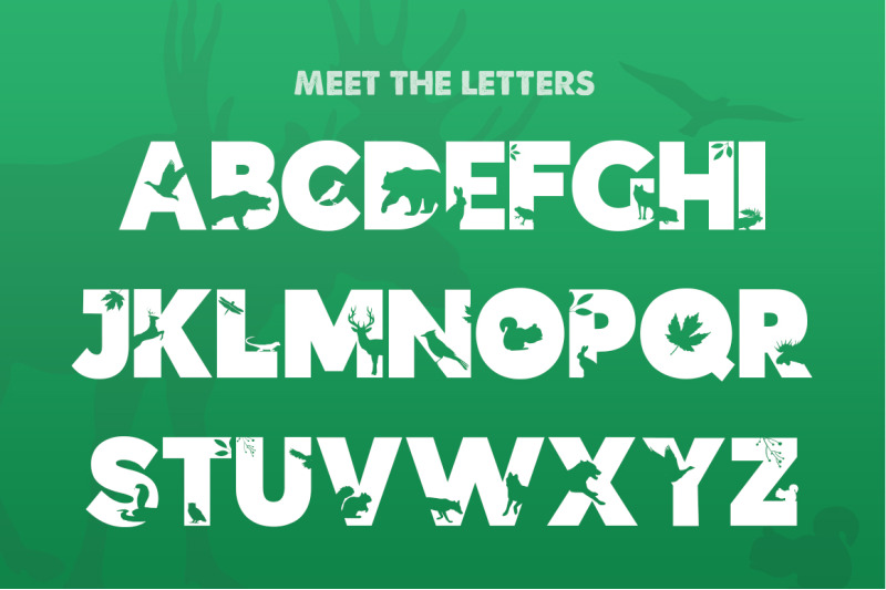 the-forest-font
