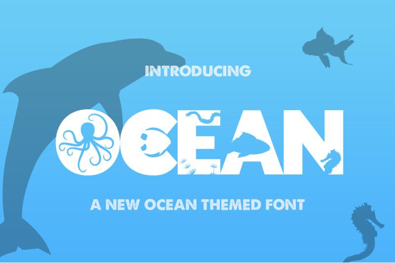 the-ocean-font