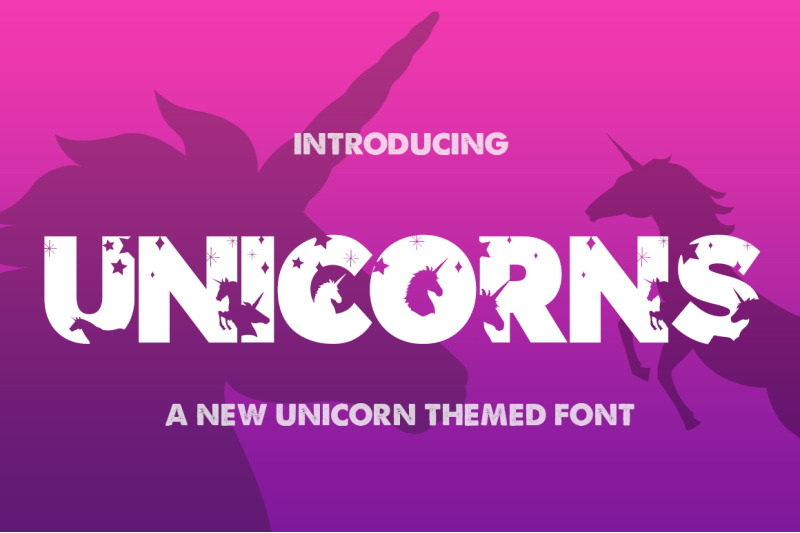 the-unicorns-font