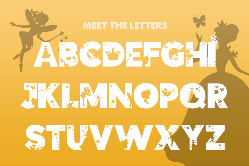the-fairies-font