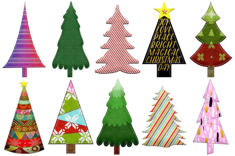 christmas-felted-trees-clip-art