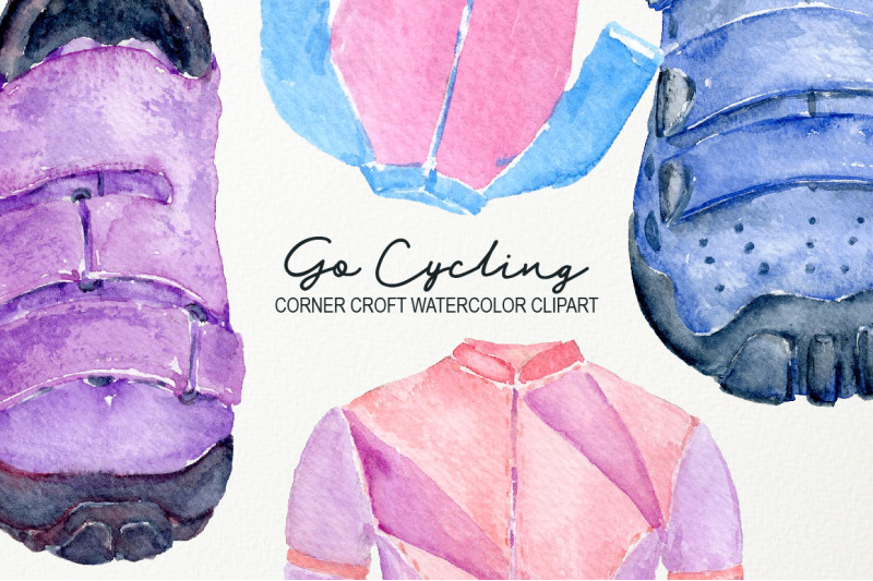 watercolor-cycling-sport-clipart