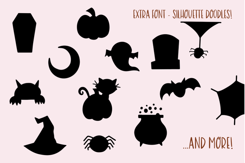 halloween-moon-handwritten-font-with-extras