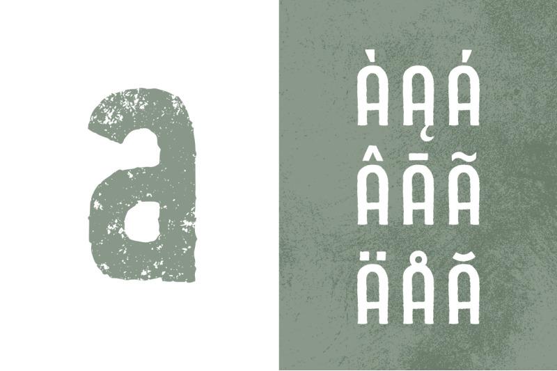 rustyhead-typeface