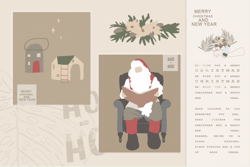 christmas-secret-modern-graphic-set