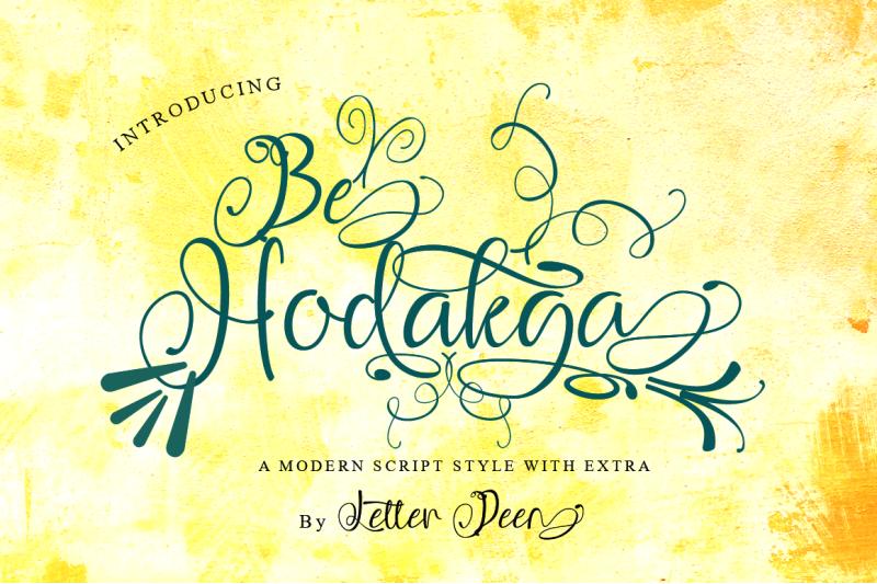 be-hodakga-modern-script