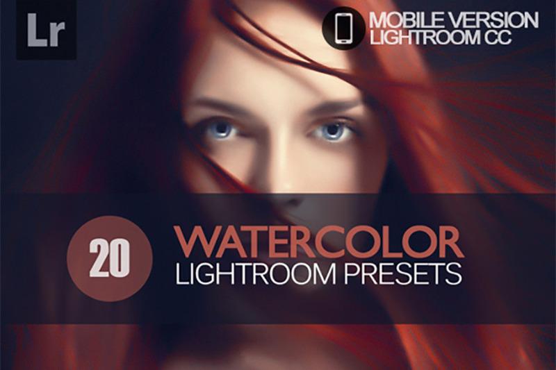 20-watercolor-lightroom-mobile-presets