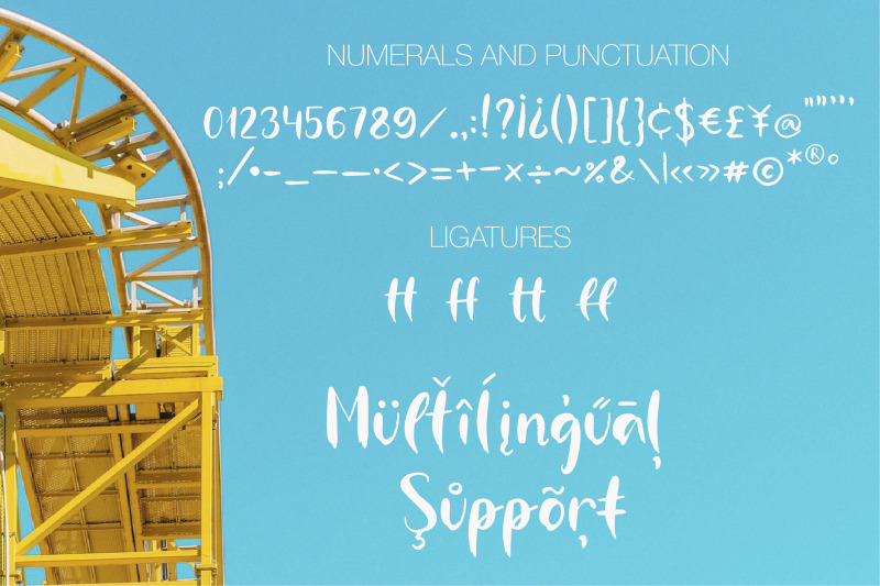 roller-coaster-a-handwritten-font