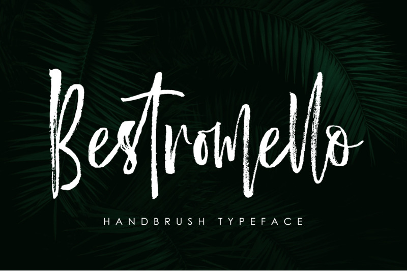 bestromello-brush-font