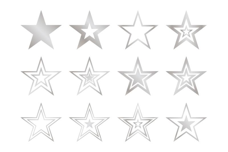 stars-clip-art-set