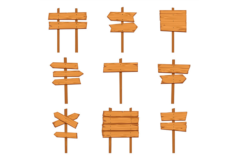 cartoon-wooden-arrows-blank-wood-signboards-and-arrow-signs-isolated
