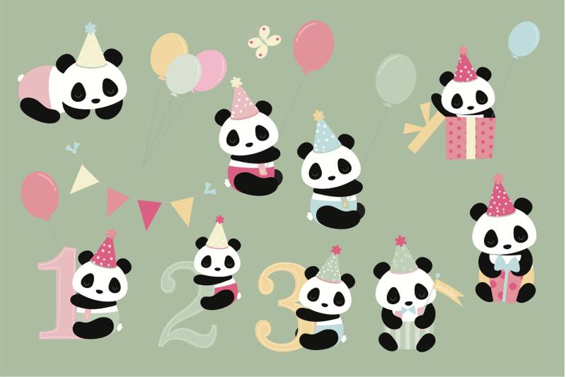 birthday-pandas