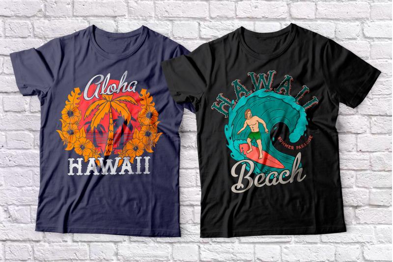 hawaii-beach-font-amp-amp-amp-t-shirts