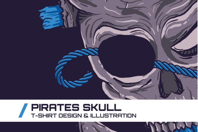pirates-skull-t-shirt-illustration