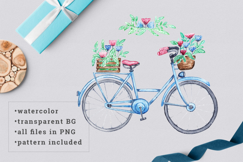 watercolor-bicycle-with-flowers-2