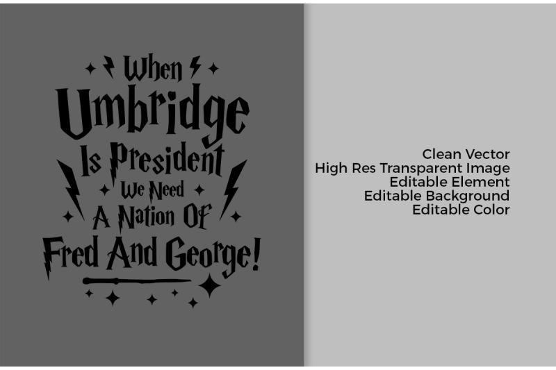 when-umbridge-president